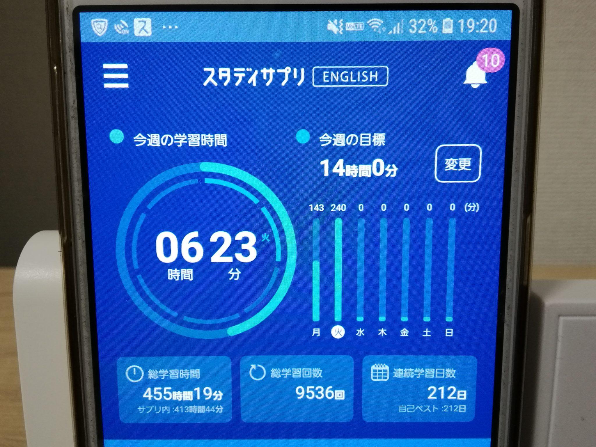 211日目スタディサプリTOEICブログ写真③