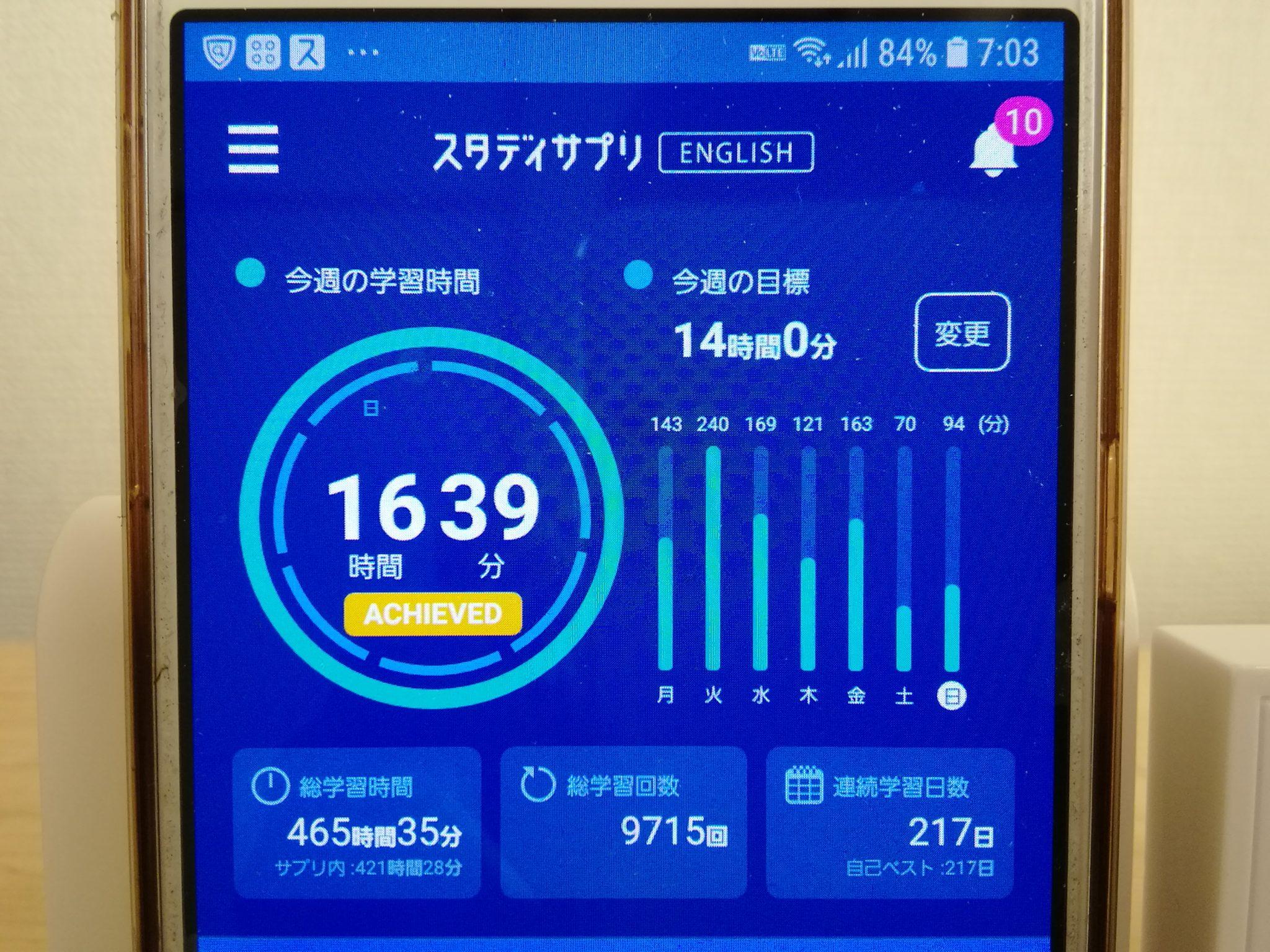 216日目スタディサプリTOEICブログ写真③