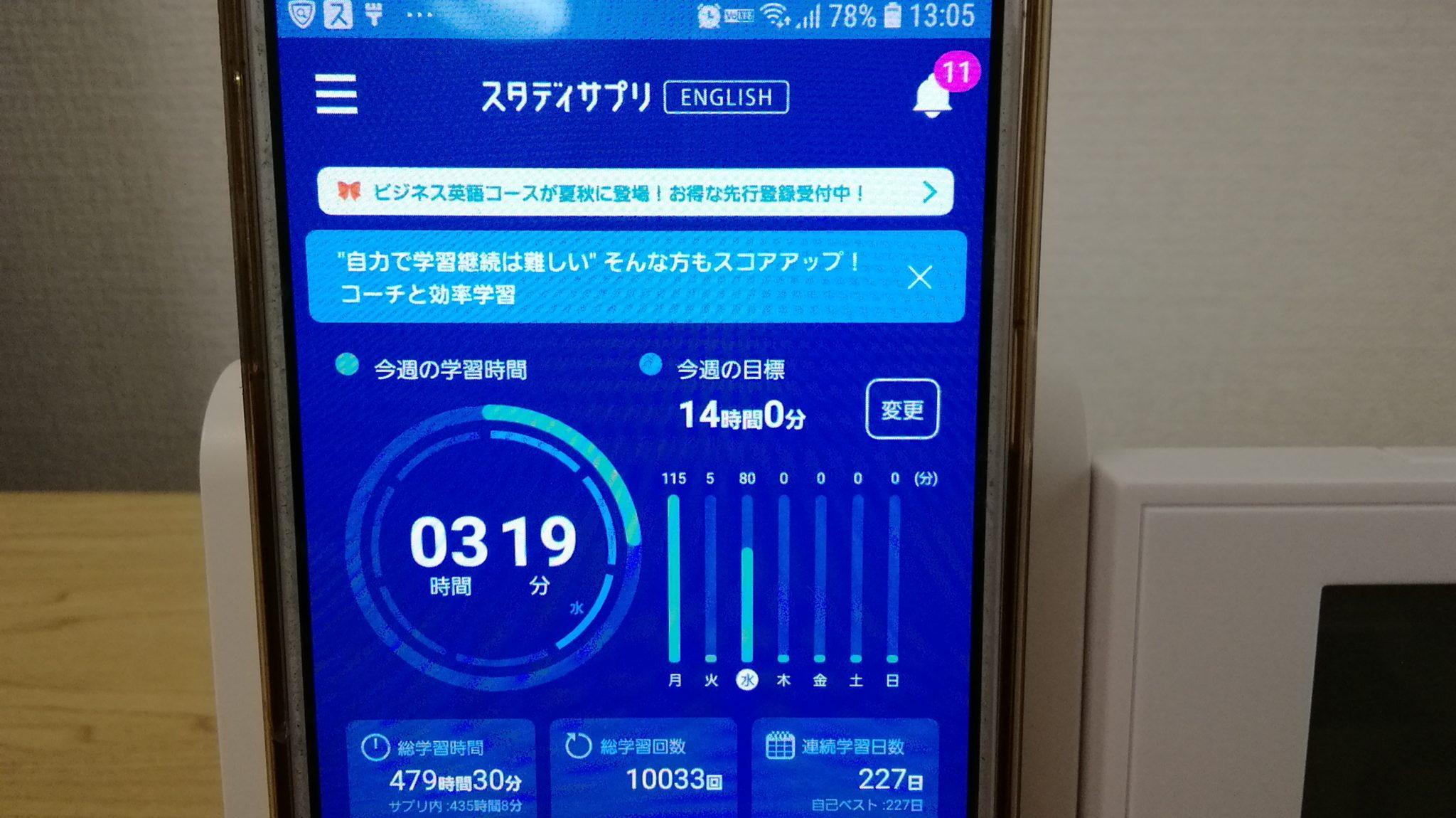 226日目スタディサプリTOEICブログ写真③
