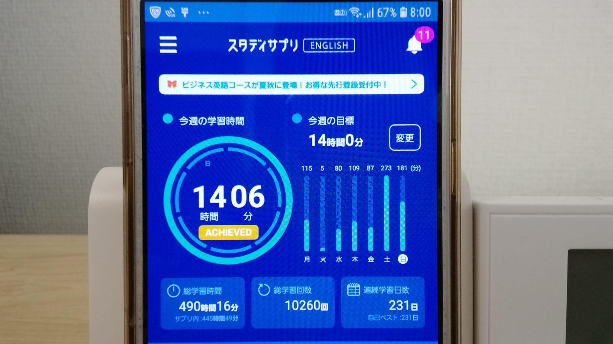 230日目スタディサプリTOEICブログ写真③