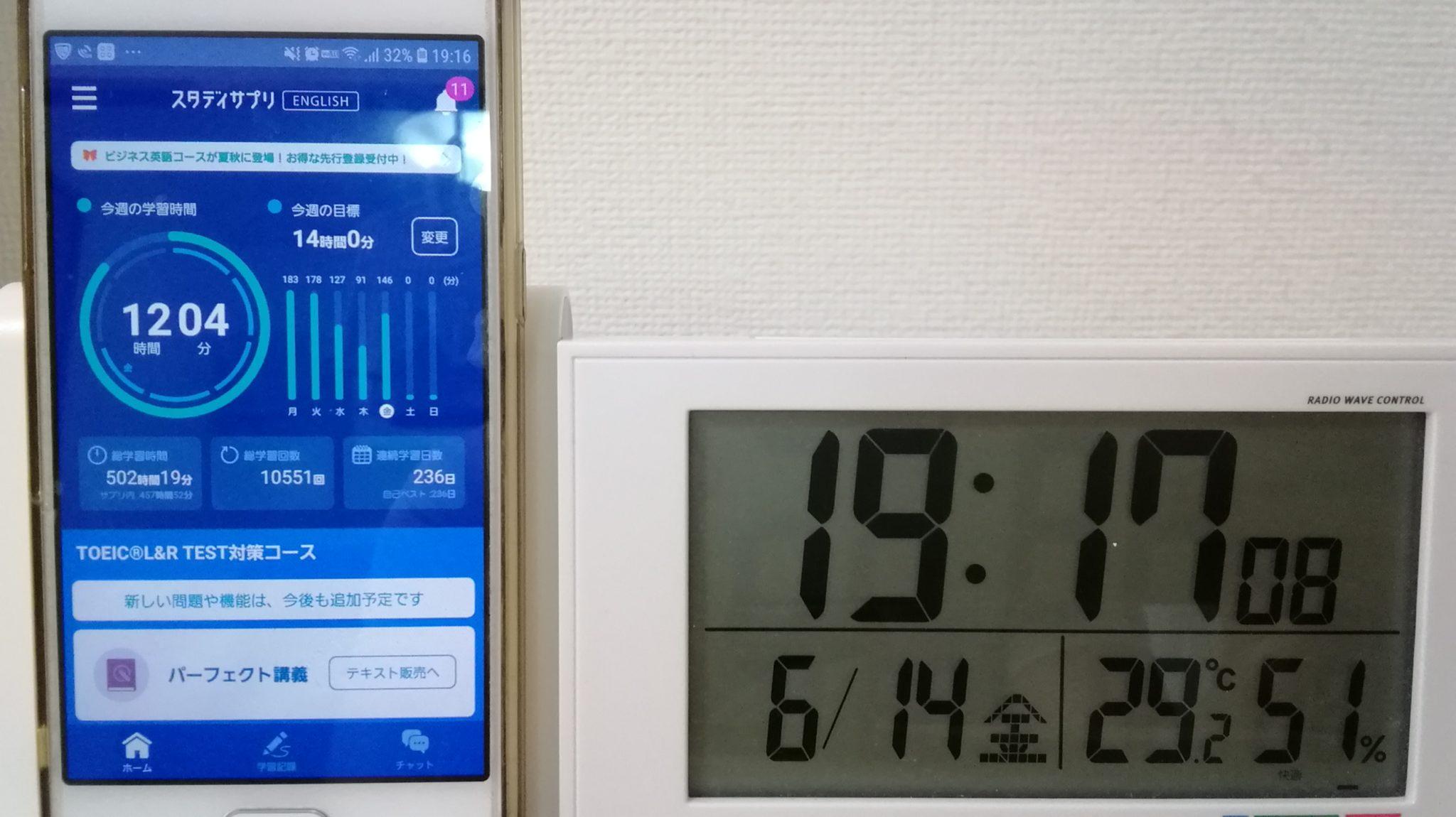 235日目スタディサプリTOEICブログ写真②