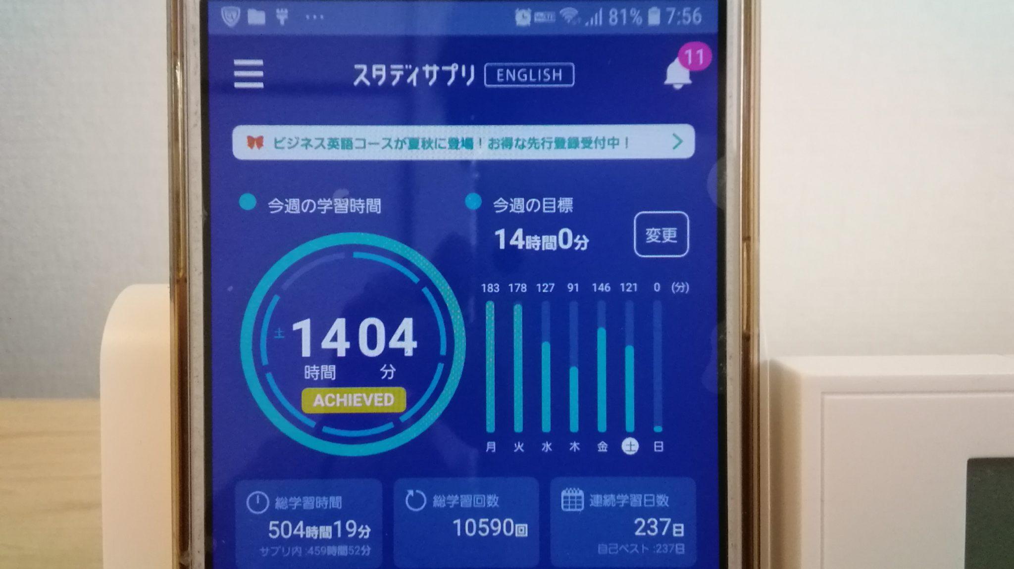 236日目スタディサプリTOEICブログ写真③
