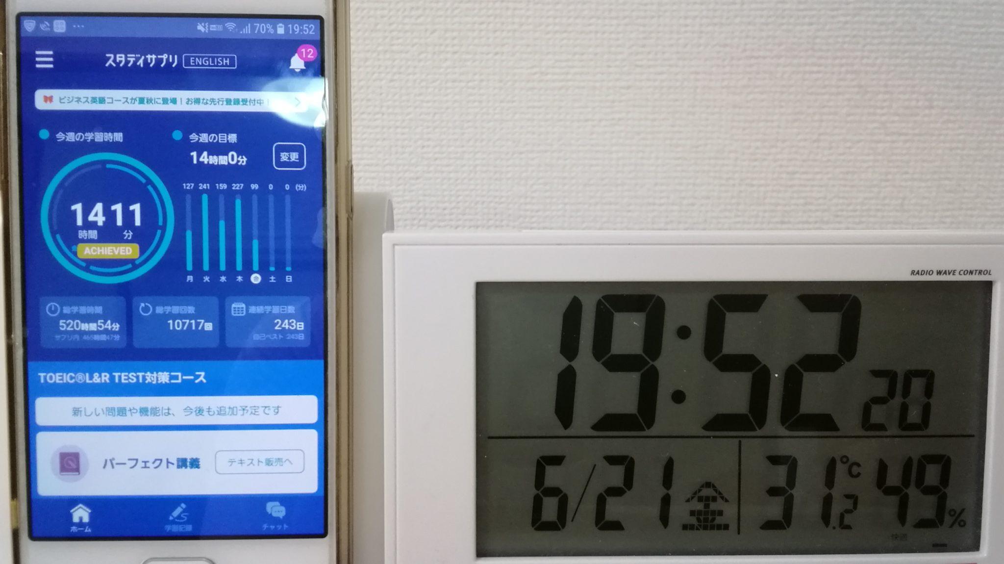 242日目スタディサプリTOEICブログ写真②