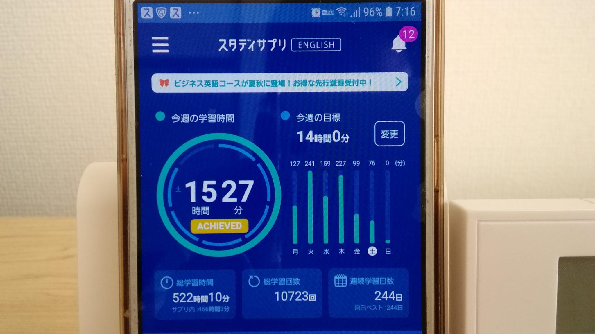 243日目スタディサプリTOEICブログ写真③