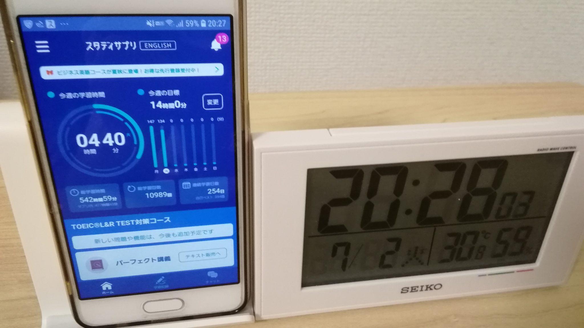 253日目スタディサプリTOEICブログ写真①
