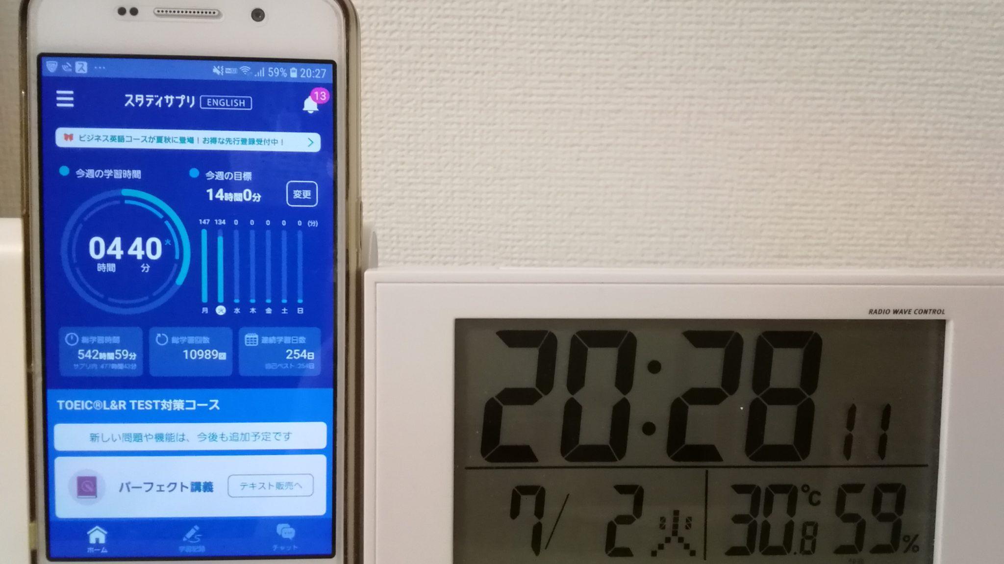 253日目スタディサプリTOEICブログ写真②