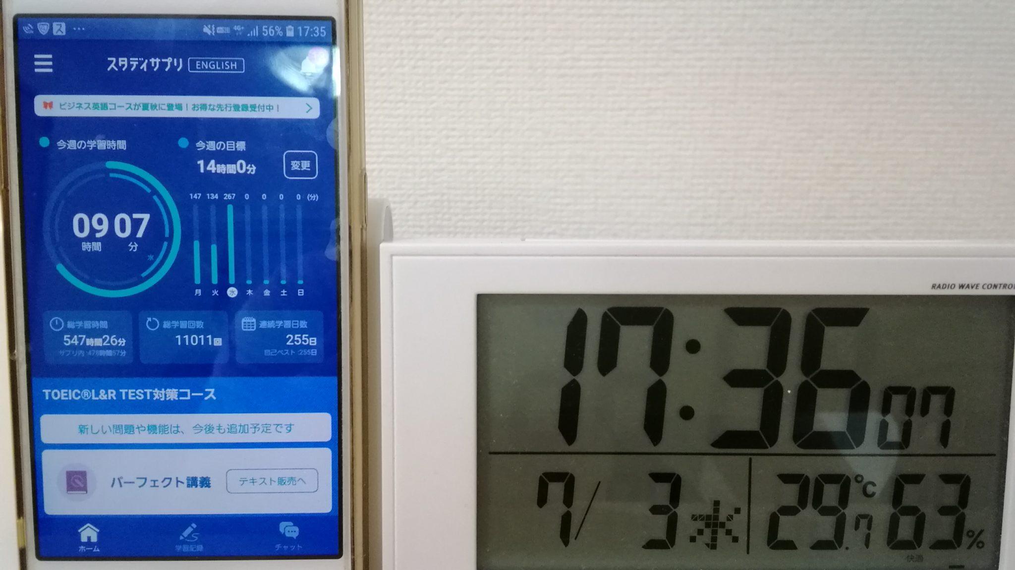 254日目スタディサプリTOEICブログ写真②
