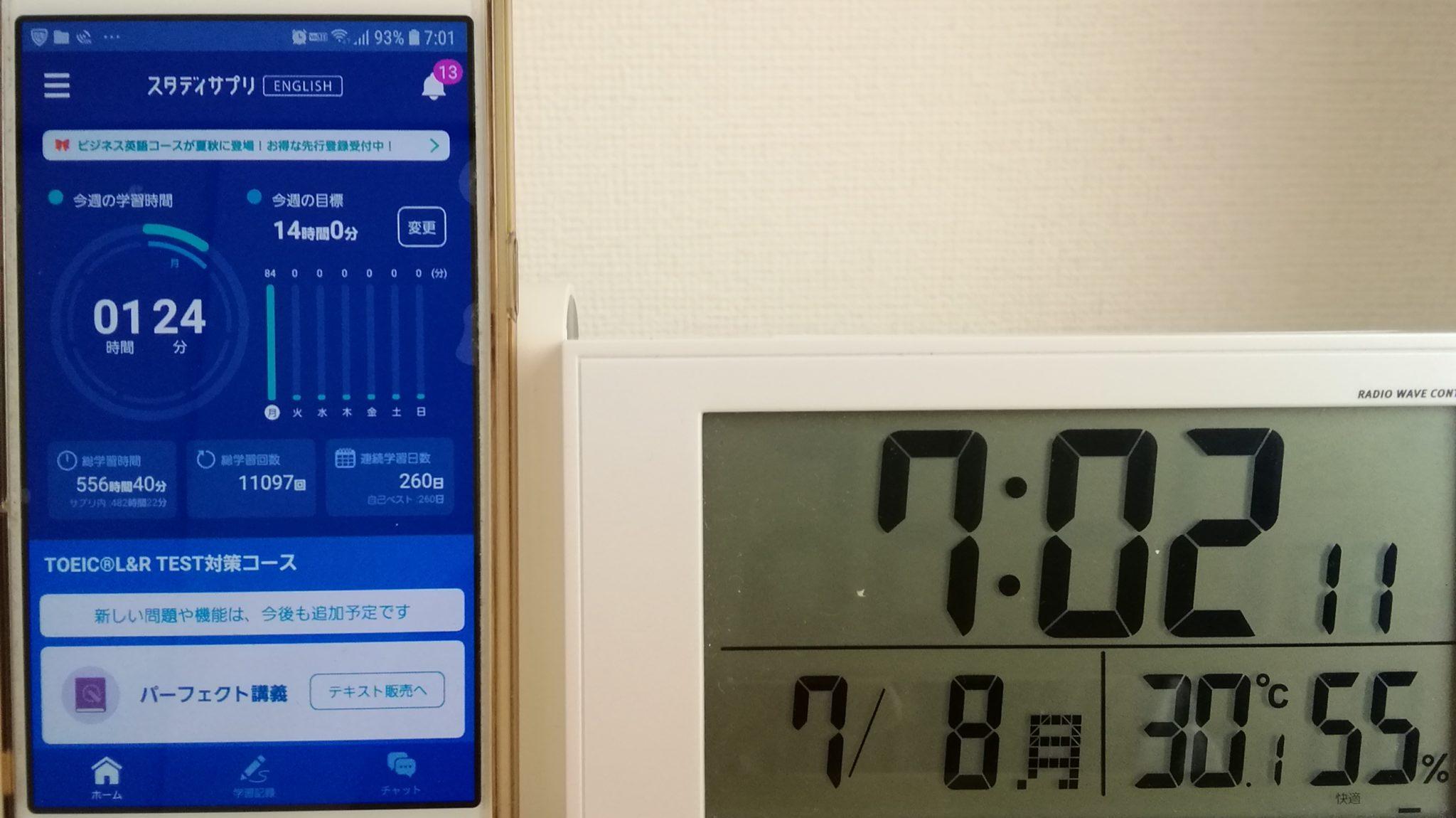259日目スタディサプリTOEICブログ写真③