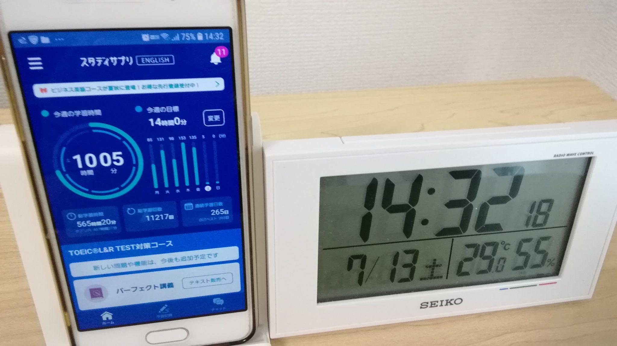 264日目スタディサプリTOEICブログ写真①