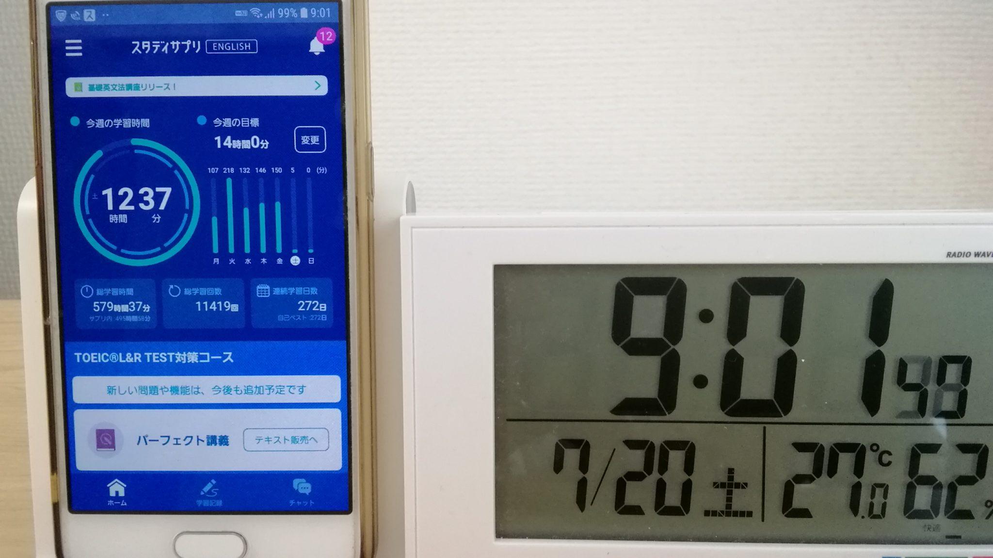 271日目スタディサプリTOEICブログ写真②