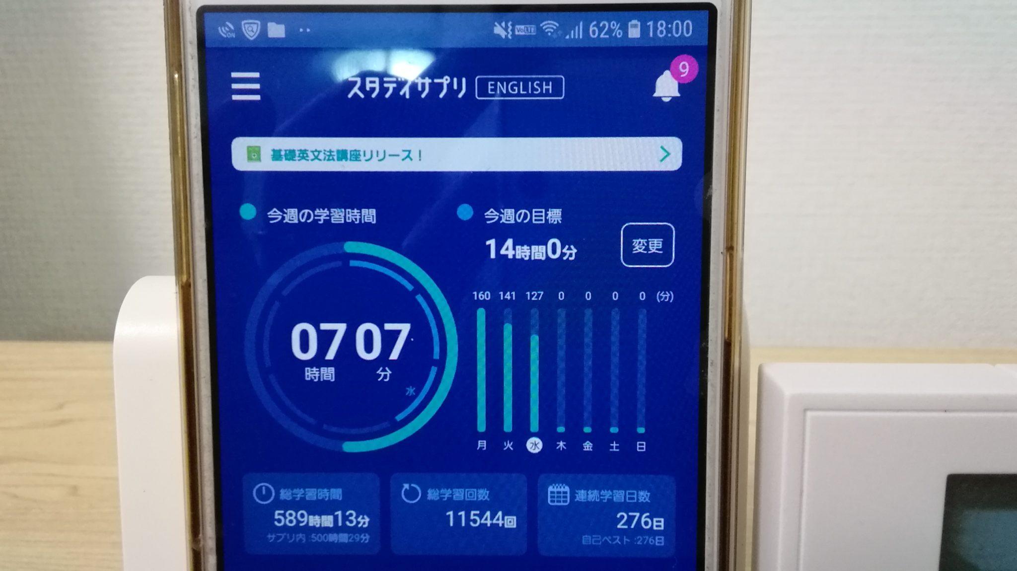 275日目スタディサプリTOEICブログ写真③