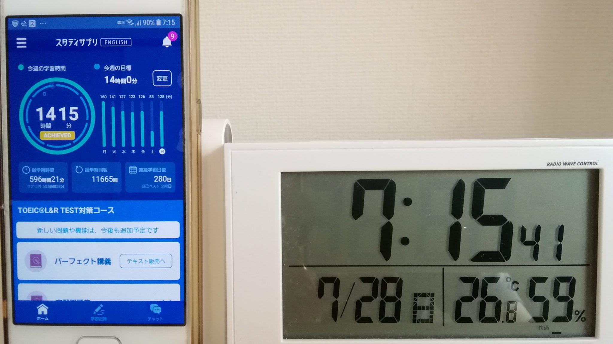 279日目スタディサプリTOEICブログ写真②
