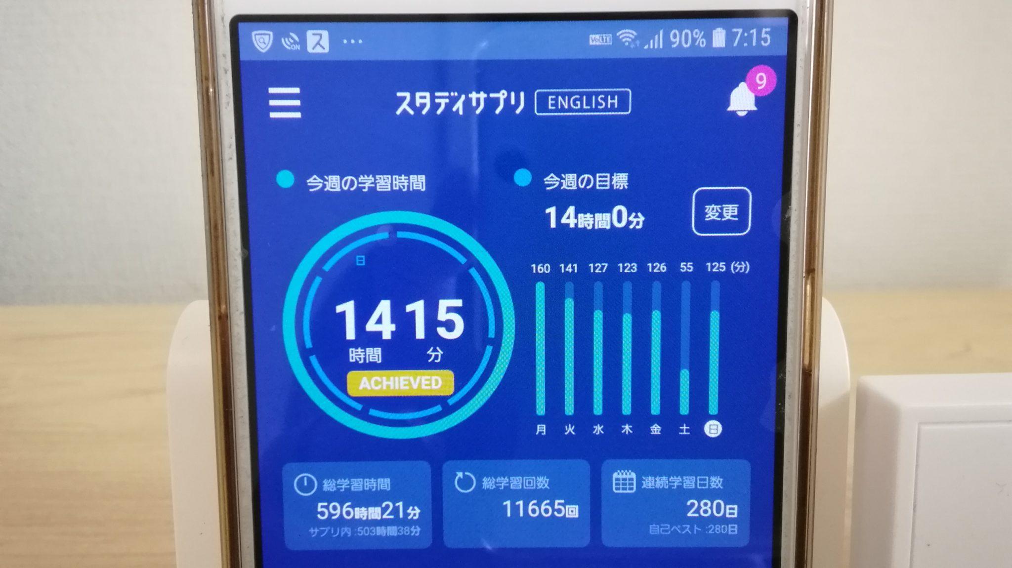 279日目スタディサプリTOEICブログ写真③