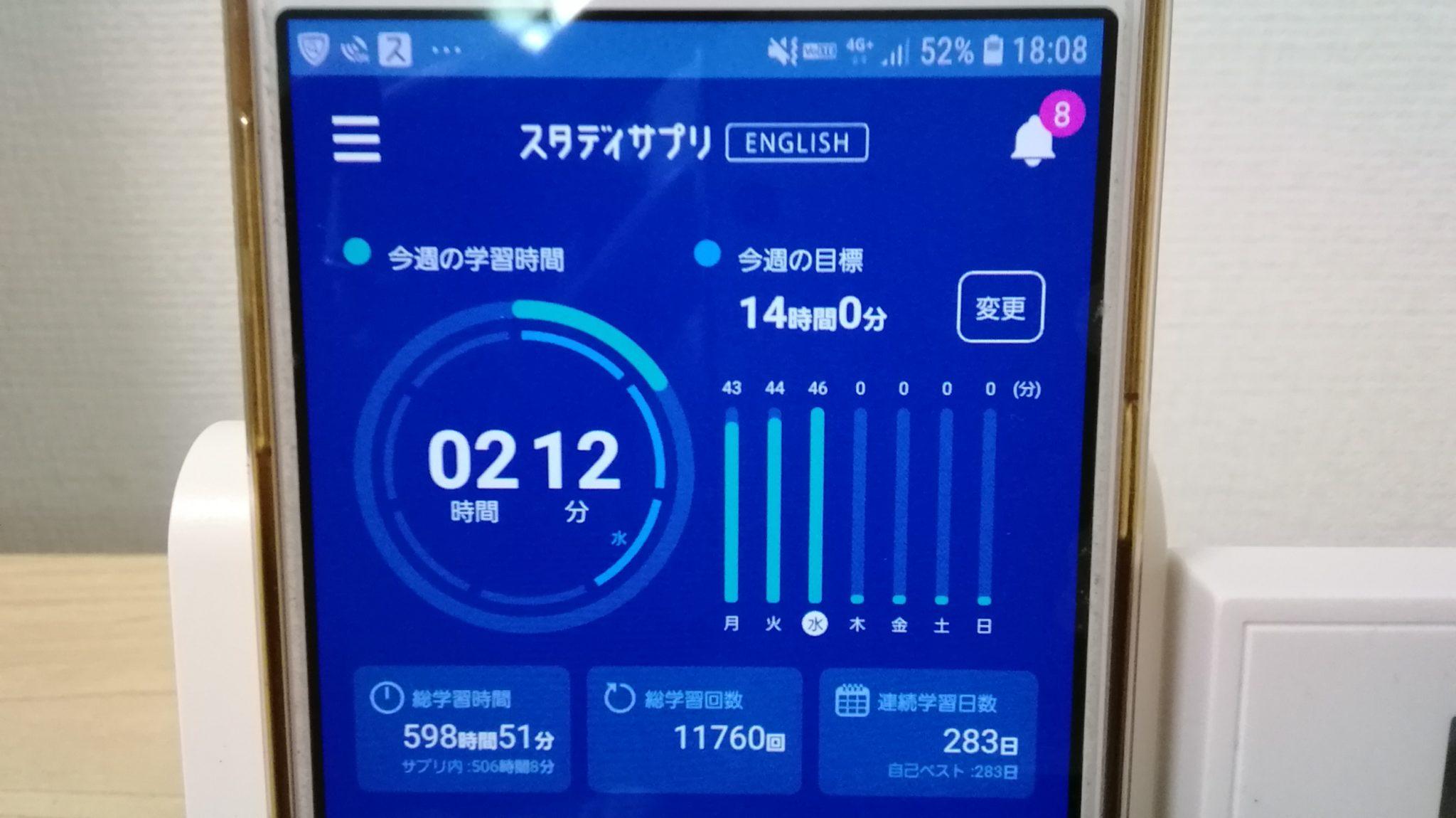 282日目スタディサプリTOEICブログ写真③