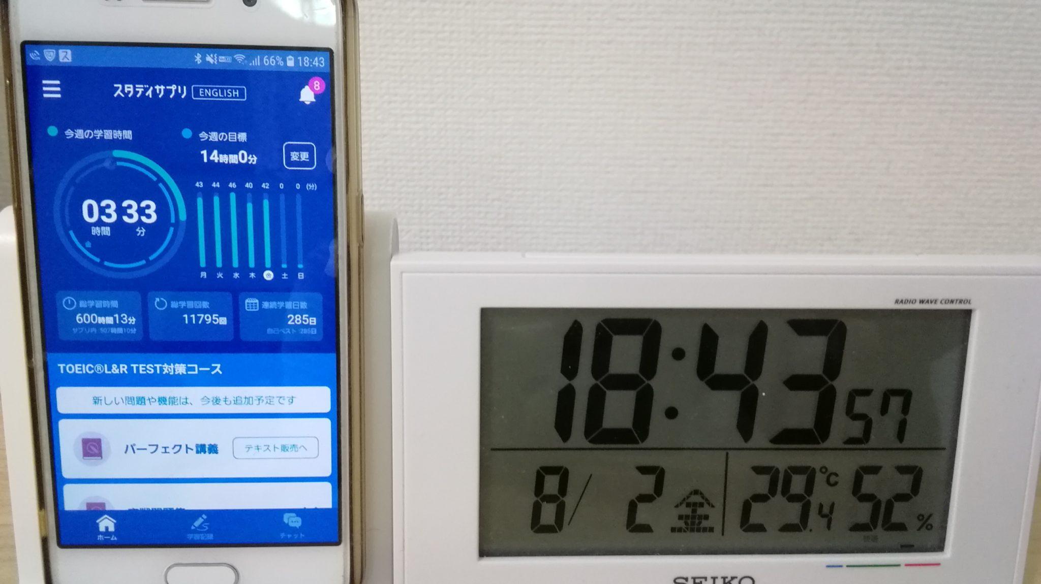 284日目スタディサプリTOEICブログ写真②