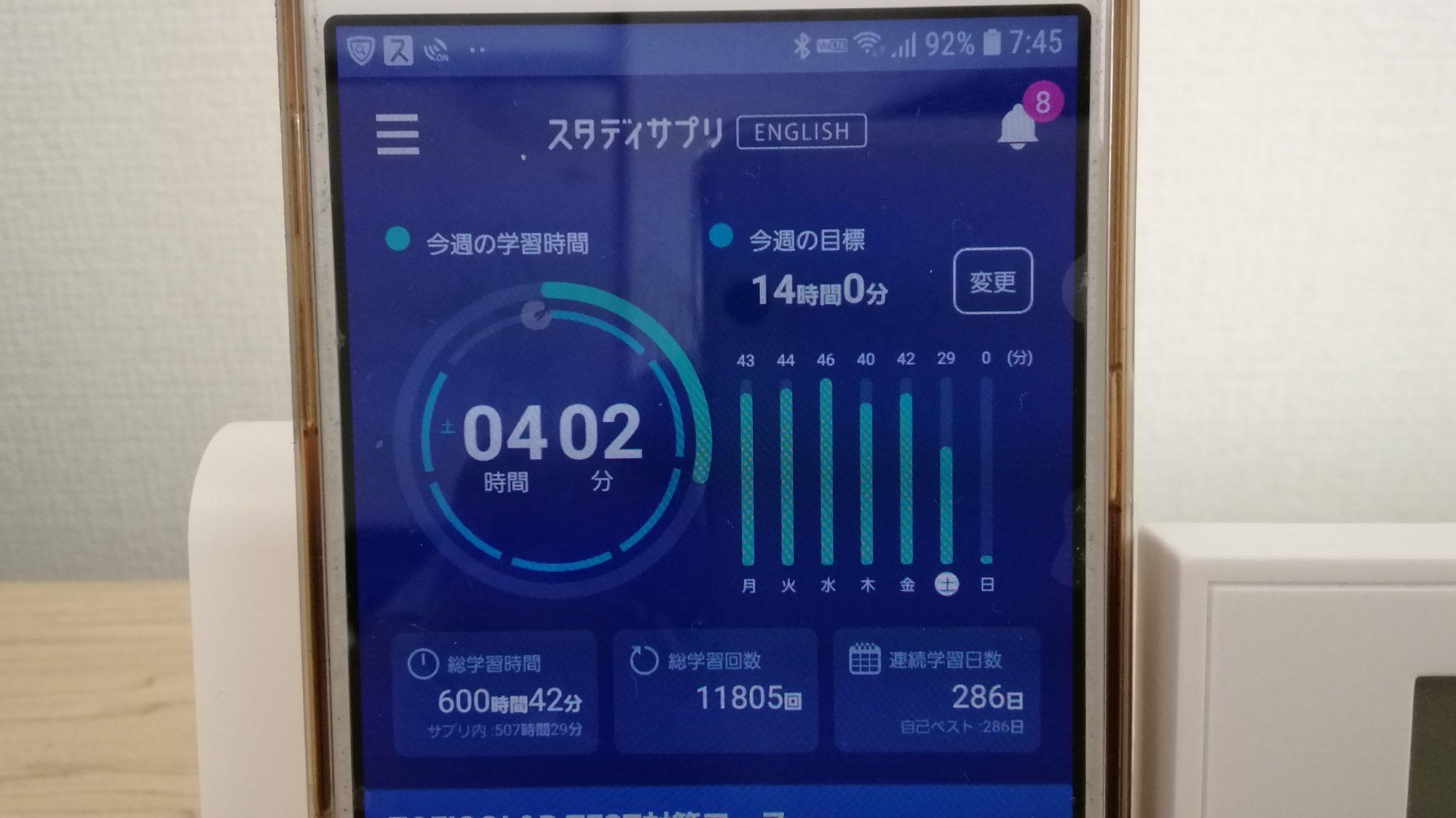 285日目スタディサプリTOEICブログ写真③