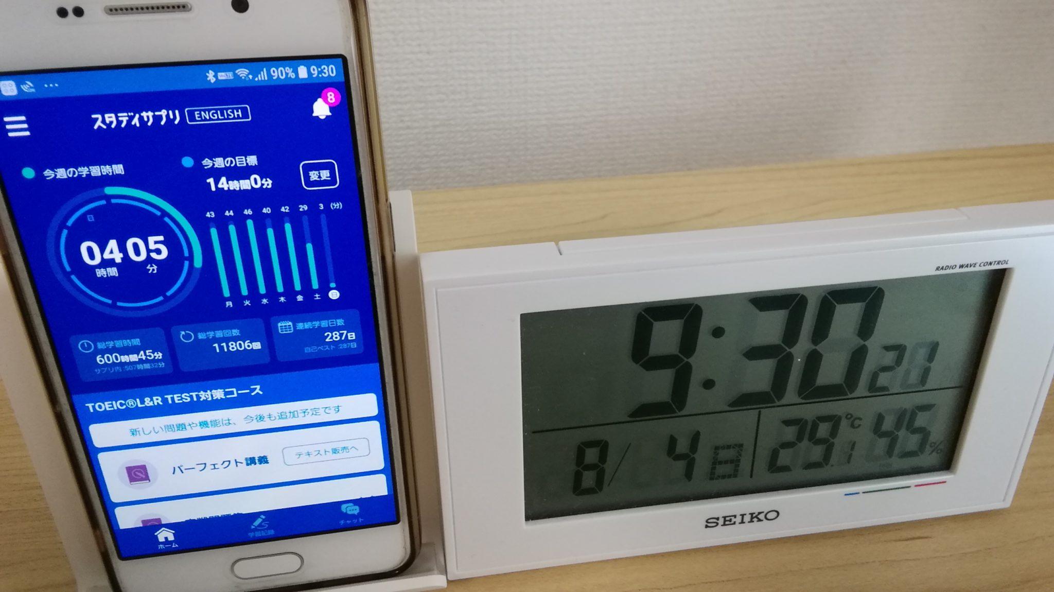286日目スタディサプリTOEICブログ写真①