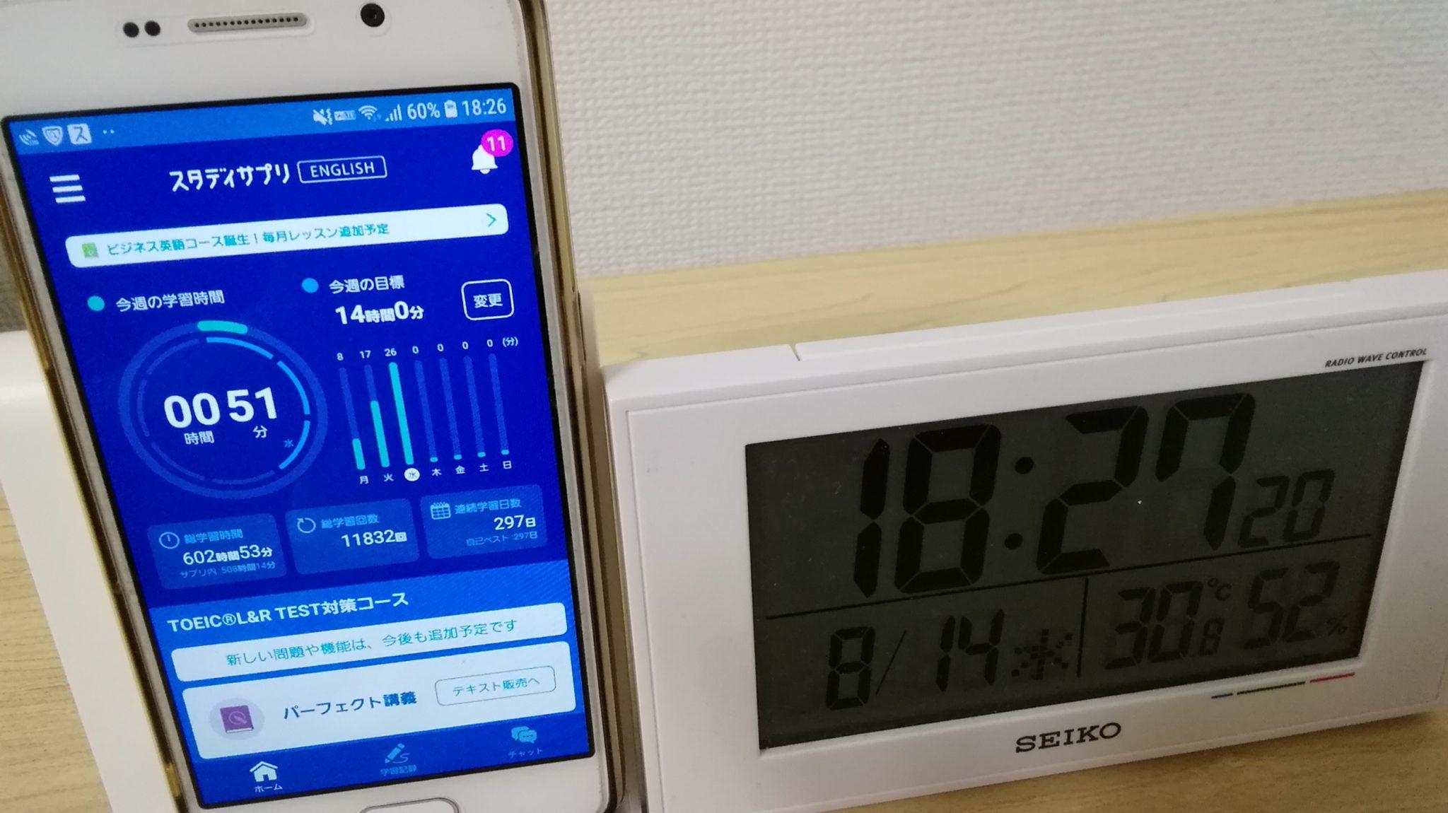 296日目スタディサプリTOEICブログ写真①