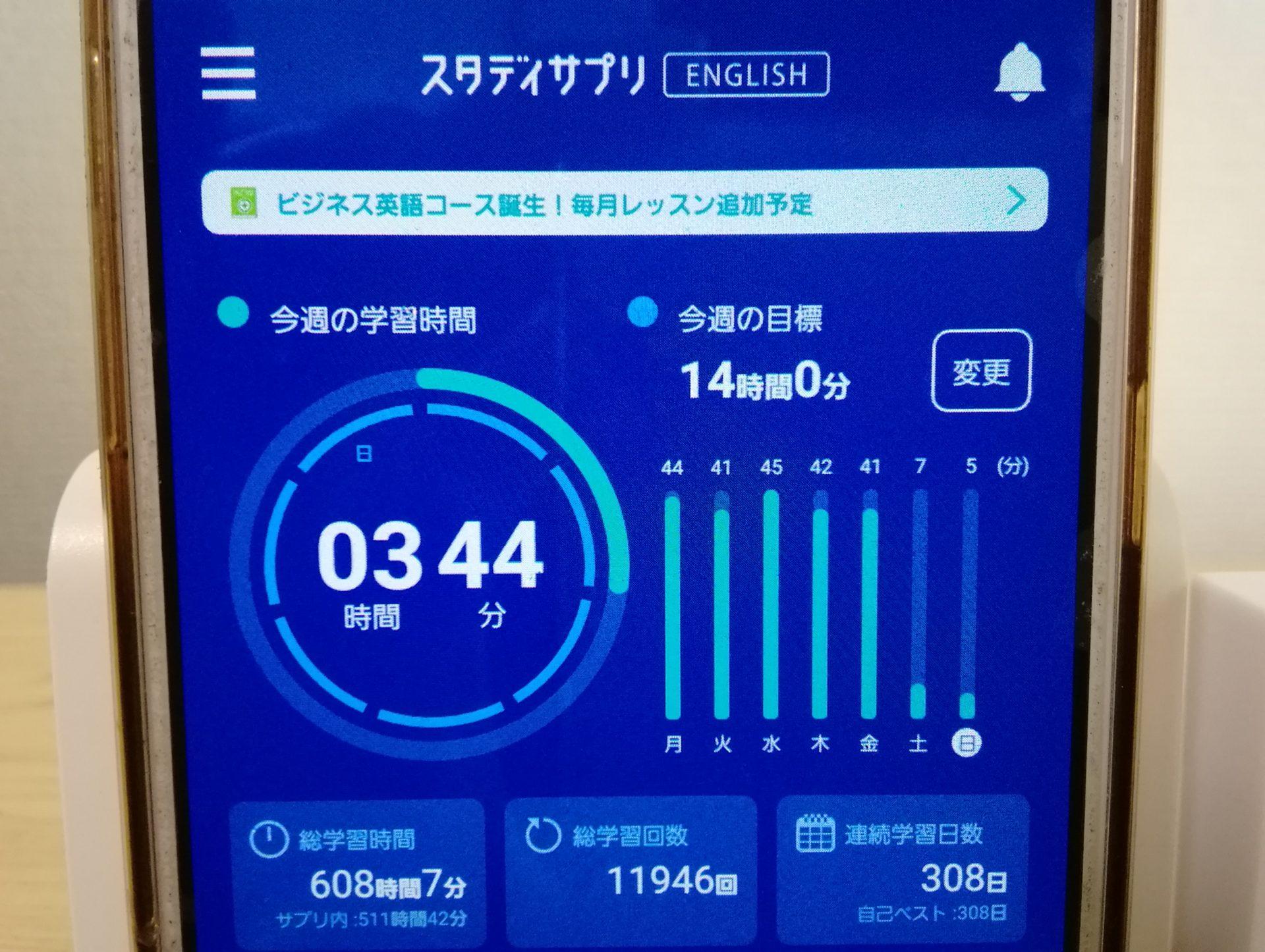 307日目スタディサプリTOEICブログ写真③
