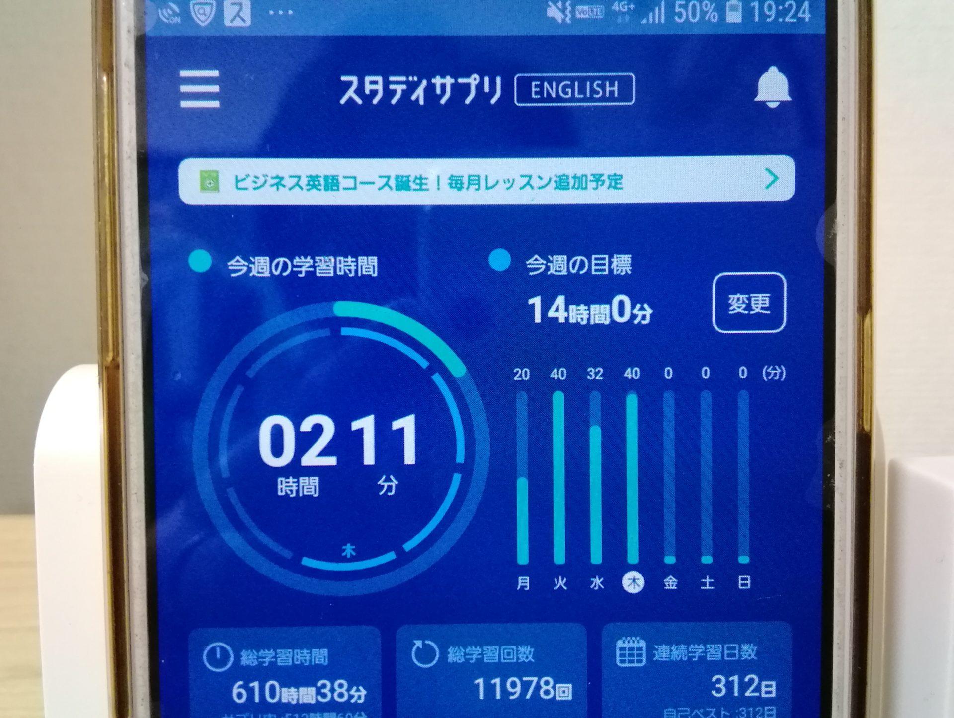 311日目スタディサプリTOEICブログ写真③