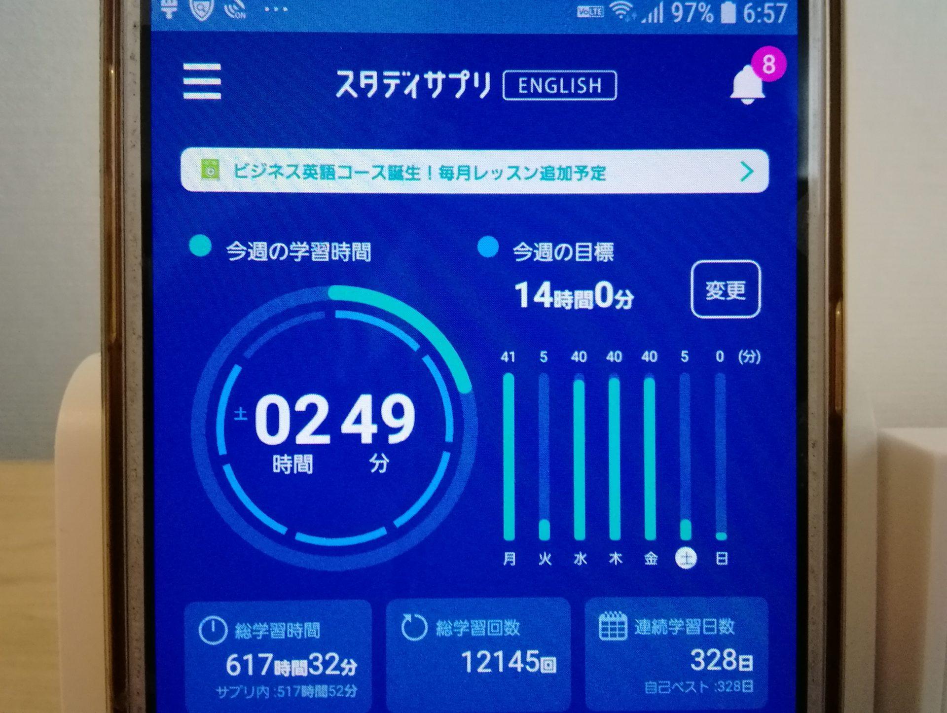 327日目スタディサプリTOEICブログ写真③