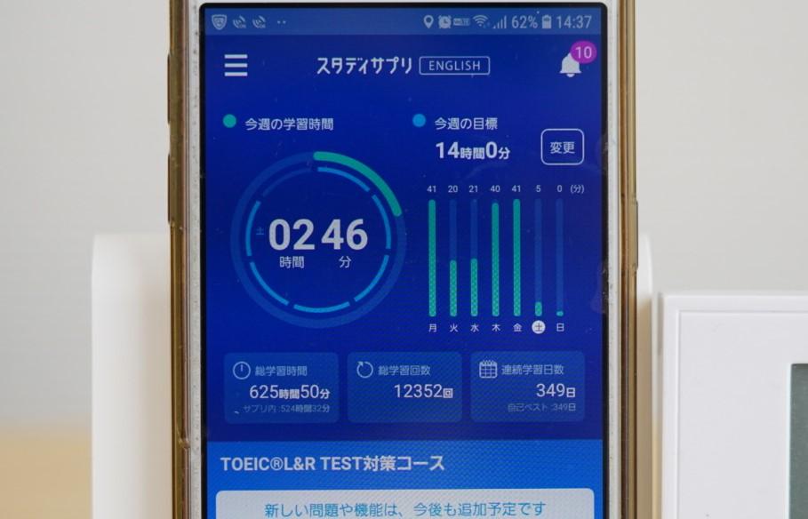 348日目スタディサプリTOEICブログ写真③